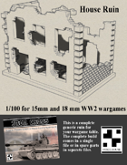 House Ruin for Wargames