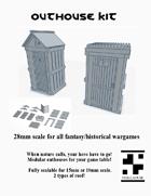 Outhouse Kit
