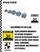 Engines 1/64 for Car Combat Games