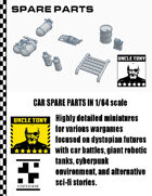 Car Spare Parts 1/64 for Car Combat Games