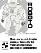 Roboto - 28mm All purpose robot