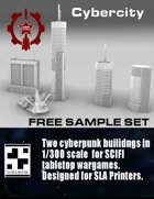 Cyberpunk Buildings - SET II