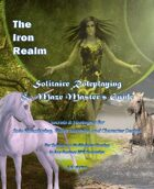 The Iron Realm Random Fantasy RPG Solitaire Roleplaying World Building and Maze Masters Guide