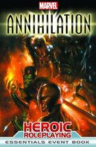 Marvel Heroic Roleplaying: Annihilation Event Book (Essentials Edition)