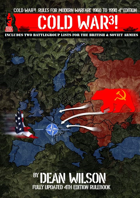 COLD WAR3! Rules for Modern Warfare 1960-1990