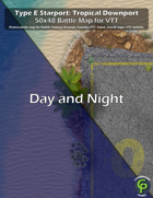 Type E Starport For VTT: Tropical Downport Day and Night