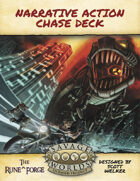 Narrative Action Chase Deck - Poker