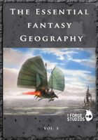 The Essential Fantasy Geography volume 3.