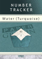 Number Tracker - Water