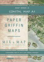 Paper Griffin Maps: Mix & Map A1 - Coastal Map