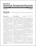 Journal of American Paranormal Research issue 3