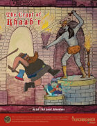 Torchbearer Sagas: The Crypt of Khaab'r