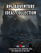 RPG Adventure Ideas Collection