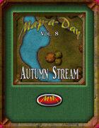 Map-A-Day 10/8/2017 Autumn Stream