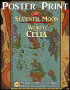 Poster Print World Map: Celia