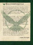Falconers Guild Intro