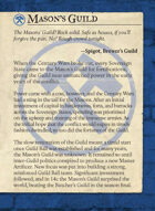 Masons Guild All Cards