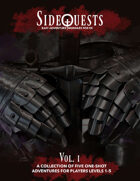 SideQuests: The Stories Thus Far (Vol. I and II Collection)