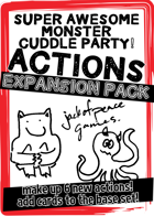 Action! Expansion - Super Awesome Monster Cuddle Party!