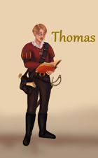 Thomas de Chantel - Karta Postaci do nowej edycji