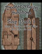 Transportation Sensations: Ship Pack 1