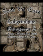 Save Vs. Cave: Labyrinthine Dungeon 3