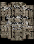 Save Vs. Cave: Labyrinthine Dungeon 4