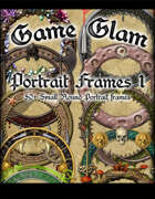 Game Glam: Portrait Frames 1