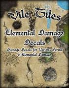 Vile Tiles: Elemental Damage Decals