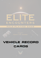 Elite Encounters RPG Vehicle Record File
