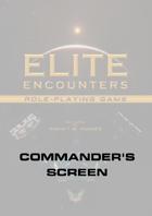 Elite Encounters RPG Commander's Screen