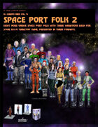 El Cheapo Minis Vol. 9 Space Port Folk 2