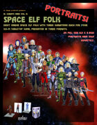 El Cheapo Portraits - Space Elf Folk