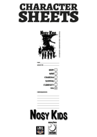 Character Sheet - Nosy Kids