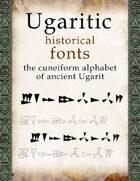 Ugaritic historical font