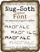 Nug-Soth cipher font