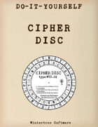 Classic Cipher Disc