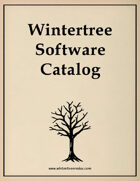 Wintertree Catalog