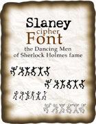Dancing Men cipher font