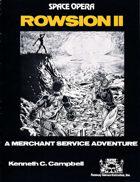 Space Opera: Rowsion II