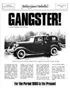 Gangster! RPG