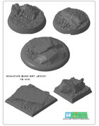 "miniatures Base Set ""Rock"" (STL Files)"