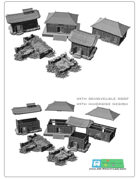 Asian /japan buildings SET (STL Files)