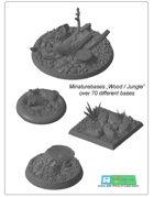 "miniatures Base Set ""Wood / Jungle"" (STL Files)"