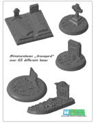 "miniatures Base Set ""Graveyard"" (STL Files)"