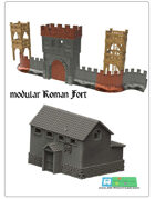 modular roman fort SET (STL Files)