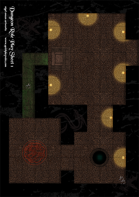 Dungeon Role Play Terrain (Set piece room)