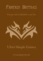 Ultra Simple Games - Fantasy Battles
