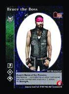 Bruce The Boss - Custom Card