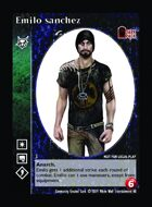 Emilo Sanchez - Custom Card